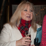 Event compere and local celebrity Annie Othen