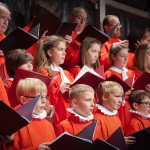 The young choristers of St Mary's